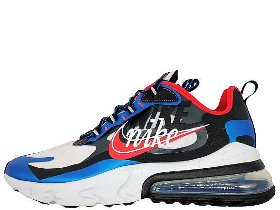 Nike Air Max 270 React Script Swoosh